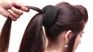 Trendy Hairstyles For Party/wedding/college|| New Party Hairstyle Tutorials || Hair Style Girl