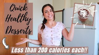 How To Make The BEST HEALTHY AND LOW-CALORIE DESSERTS! // Great For Weight Loss! // No-Bake!
