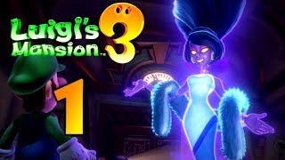 Zagrajmy W Luigi's Mansion 3 Part 1: Wakacje Z Duchami!