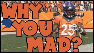 YOU GETTING MAD! I'M GETTING PICKS!! - Madden 16 Ultimate Team | MUT 16 XB1 Gameplay