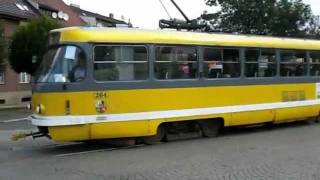 preview picture of video 'Straßenbahnen in Plzeň / Tramvaje v Plzni (29.08.2009)'