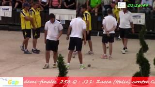 preview picture of video 'Demi-finales, 94ème Grand Prix Bouliste, Sport Boules, Gap 2014'