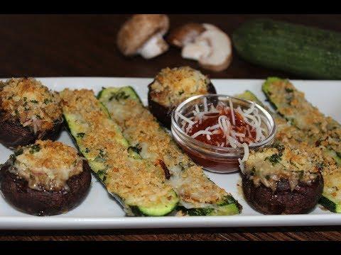 Stuffed mushrooms | Appetizer Recipe | స్టఫ్డ్ పుట్టగొడుగు | मशरूम एपेटाइज़र