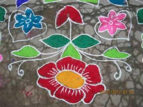 rangoli designs for sankranthi festival telugu