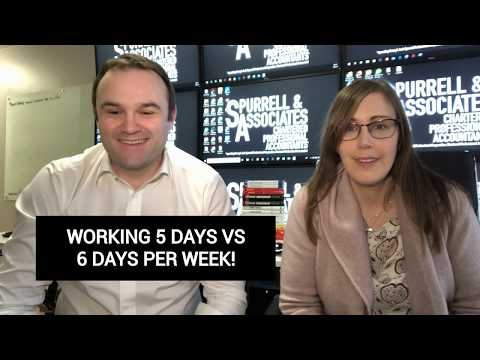 Working 5 Days Vs 6 Days Per Week