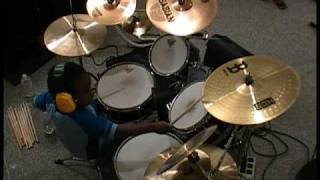 The Trews - Hold me in Your Arms, Drum Cover, 4 Year Old Drummer