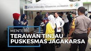Video Menteri Kesehatan RI Tinjau Pelayanan Puskesmas Kecamatan Jagakarsa