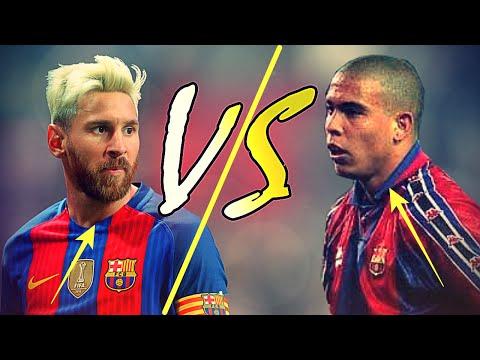 Messi Vs Ronaldo El Fenomeno   Dribbling/Runs/Speed/Goals 1080p HD