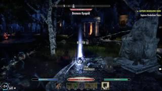 Stamina Templar - Elder Scrolls Online (Xbox one ESO) - Арт