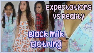 Black Milk Clothing Review + Try On Haul | Expectations Vs Reality [EP 4]