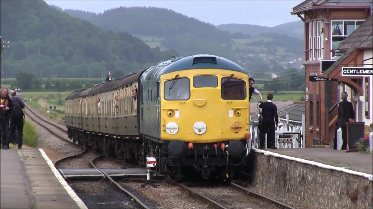 The 2017 Diesel Gala On The West Somerset railway
