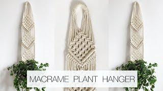 DIY: MACRAME PLANT HANGER | PLANT HANGER #5 | MACRAME PLANT HANGER TUTORIAL (step By Step)