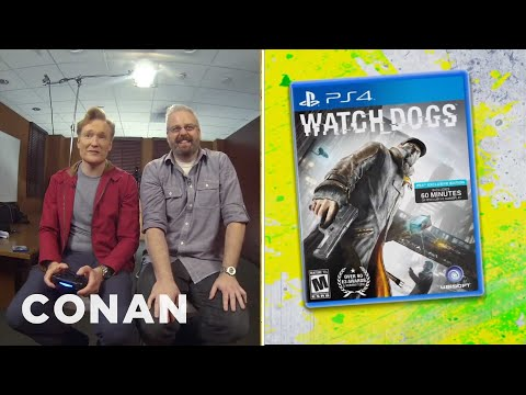 Conan recenzuje hru Watch Dogs