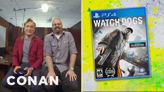 """Clueless Gamer: Conan Reviews """"Watch Dogs""""   CONAN on TBS"""