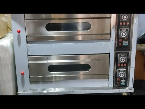 Gas 2 Deck 4 Tray Oven