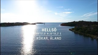 Safe Approach to Hellsö port in Kökar, Åland