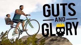 Guts and Glory Gameplay - BLOODY BIKING | Guts & Glory Free Demo + Download Link