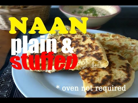 How to make stove-top naan