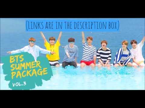 2017 BTS SUMMER PACKAGE VOL.3