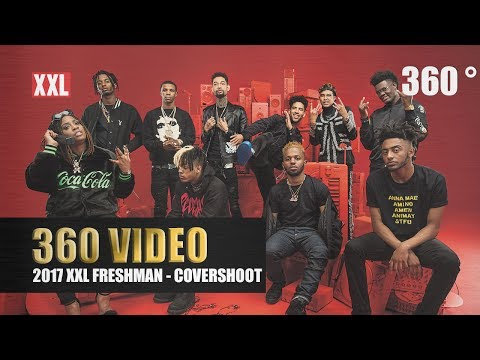 See a 360 View of 2017 XXL Freshman Cover Shoot