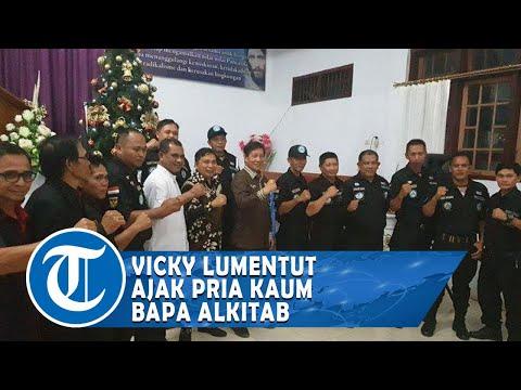 Ketua Pria Kaum Bapa Vicky Lumentut Ajak Pria Kaum Bapa dan Jemaat Bukit Hermon Rajin Baca Alkitab