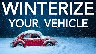How To Winterize Your Vehicle & Prepare For Cold Winter Driving Weather - Car & Truck Safety Tips