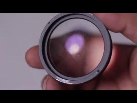 Como limpiar el lente de hongos
