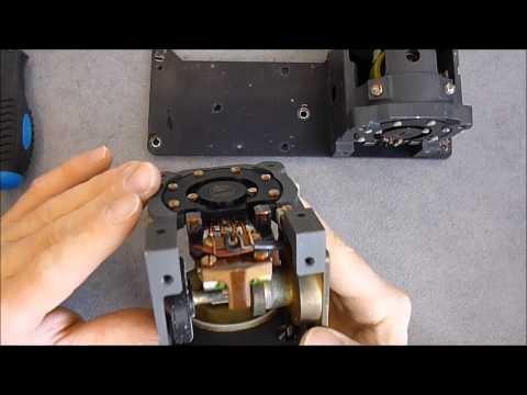 Matra missile gyro unit parts:  the gyros