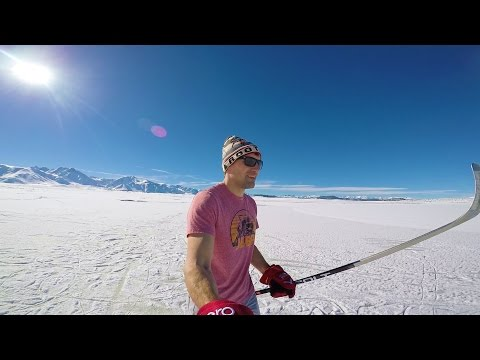 We Found Pond Hockey in California! Hockey VLOG 006