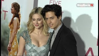 Lili Reinhart and Cole Sprouse arrive at 'Five Feet Apart' LA Film Premiere