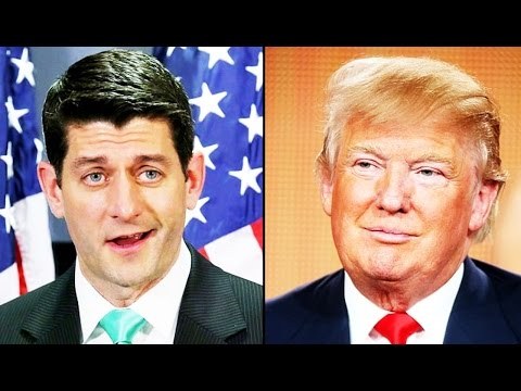 Kooky Mixup! Paul Ryan Asked Trump Not To Talk Taxes, But a 'WSJ' Article Came Out the Next Morning
