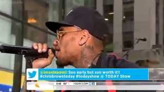 Chris Brown - Fine China & Love More live on @todayshow