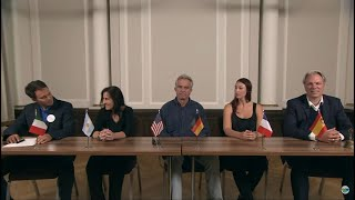 Robert F. Kennedy, Jr. And Senta Depuydt Launch Children's Health Defense in Europe