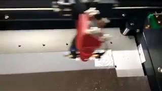 LaserING 60×40 – grabando sellos de caucho