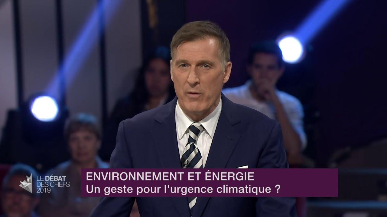 Maxime Bernier répond à la question d'un citoyen sur les mesures environnementales