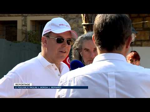 Nikos Aliagas gets to know Prince Albert II