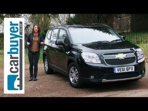 Chevrolet Orlando MPV 2013 review - CarBuyer
