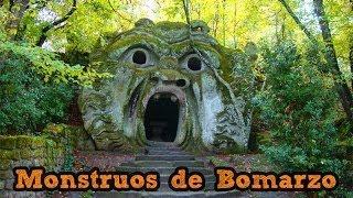 preview picture of video 'Parque de los Monstruos de Bomarzo, Italia'