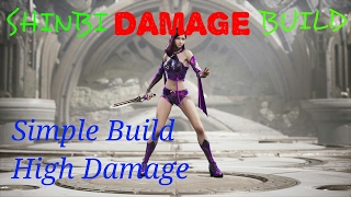 PARAGON SHINBI DAMAGE BUILD!! SIMPLE BUILD HIGH DAMAGE!