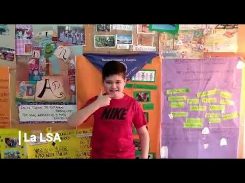 TwitteRelato en lenguaje de señas para la sexta edición
