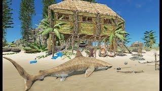 うんちで家を作ろう!マインクラフト風無人島サバイバル生活