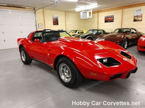 1978 Red Corvette Big Block Four Speed For Sale Video