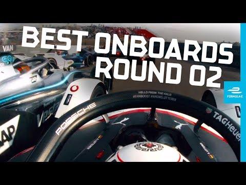 【フォーミュラE ベストオンボード動画】フォーミュラE 2019 第2戦ディルイーヤ レース中のベストオンボード映像