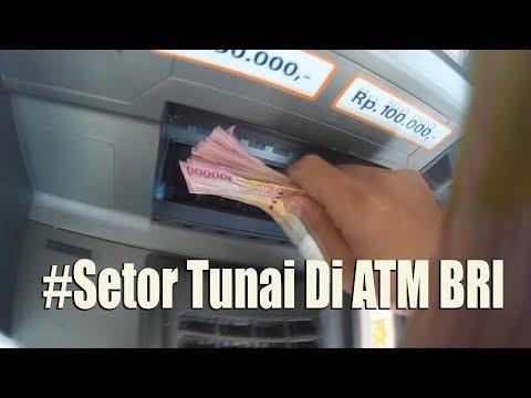 Cara Setor Tunai Lewat Mesin ATM BRI