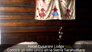 Hotel Cusarare Lodge SierraTarahumara ¡