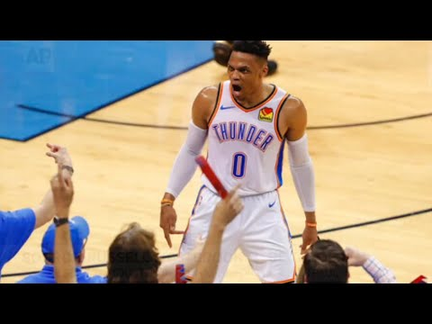 A person with knowledge of the situation says the Oklahoma City Thunder have traded Russell Westbrook to the Houston Rockets for Chris Paul and draft picks. The move will reunite Westbrook with former Thunder teammate James Harden. (July 12)