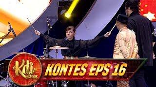 Kocak Banget Aksi Wendy, Igun dan Rina Nose Bermain Drum - Kontes KDI Eps 16 (27/8)