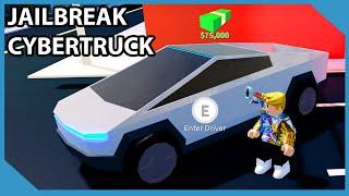 Buying The Tesla Cybertruck In Roblox Jailbreak