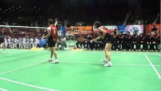 張亞雯/潮田玲子日本ユニシス日本リーグ2011