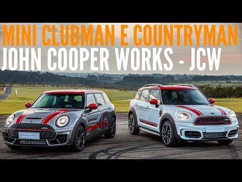 🏎️ Testamos o MINI Countryman e Clubman John Cooper Works JCW - BlogAuto